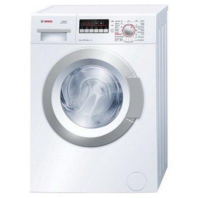 Стиральная машина Bosch WLG 24260OE (WLG24260OE)Стиральные машины Bosch<br>85x60x40, фронтальная загрузка,5 кг, 1200 об/мин,дисплей,таймер<br>