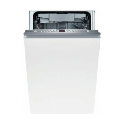 Встраиваемая посудомоечная машина Bosch SPV43M00RU (SPV43M00RU)Встраиваемые посудомоечные машины Bosch<br>45x57x82см, 9 комплектов посуды, класс энергопотребления A, таймер от 1 до 24 часов<br>