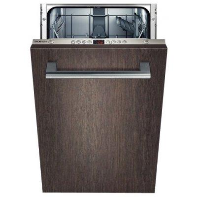 Встраиваемая посудомоечная машина Siemens SR64M030RU (SR64M030RU)Встраиваемые посудомоечные машины Siemens<br>44.8x55x82см, 9 комплектов, класс энергопотребления A, таймер от 1 до 24 часов<br>