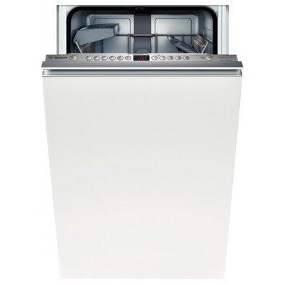 Встраиваемая посудомоечная машина Bosch SPV63M50RU (SPV63M50RU)Встраиваемые посудомоечные машины Bosch<br>45x57x82, 10 компл., полновстраиваемая, класс энергопотребления А, таймер 1-24 ч, цвет: нерж. сталь<br>