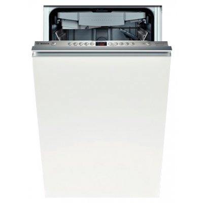 Встраиваемая посудомоечная машина Bosch SPV58M50RU (SPV58M50RU)Встраиваемые посудомоечные машины Bosch<br>45x57x82, 10 компл., полновстраиваемая, класс энергопотребления А, таймер 1-24 ч, цвет: нерж. сталь<br>
