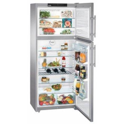 Холодильник Liebherr CTNes 4753-22 001 (CTNes 4753-22 001)Холодильники Liebherr<br>186x75x63, объем камер 329+84, No frost, морозильная камера сверху<br>