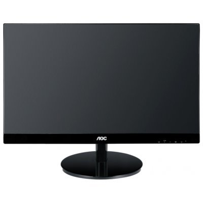 Монитор 21.5 AOC I2269Vwm/01 Glossy-Black (I2269Vwm/01)Мониторы AOC<br>AH-IPS LED 5ms 16:9 2xHDMI M/M 50M:1 250cd Displayport<br>
