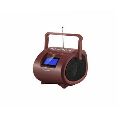 Аудиомагнитола Rolsen RBM412BR коричневый (RBM412BR/brown)Аудиомагнитолы Rolsen<br><br>