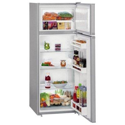 Холодильник Liebherr CTPsl 2521 серебристый (CTPsl 2521-20 001)Холодильники Liebherr<br>140x55x63, объем камер 191+44, морозильная камера верхняя<br>