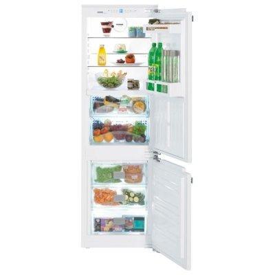 Холодильник Liebherr ICBN 3314 (ICBN 3314-20 001)Встраиваемые холодильники Liebherr<br>Встраиваемый, 177x56x53.9см, 179+63л, No Frost, нижняя морозильная камера<br>