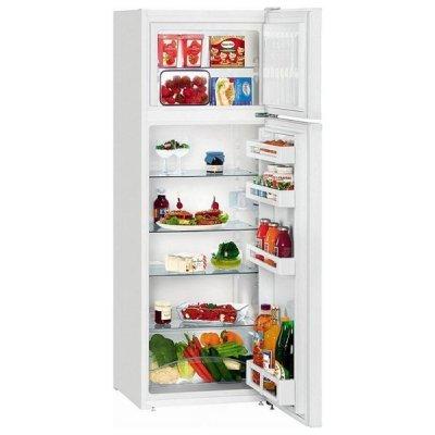 Холодильник Liebherr CTP 2921 белый (CTP 2921-20 001)Холодильники Liebherr<br>140x55x63, объем камер 191+44, морозильная камера верхняя<br>