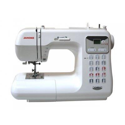 Швейная машина Janome DC4030 (DC4030)Швейные машины Janome<br>электронная, ротационный горизонтальный челнок, швейных операций - 30, петля-автомат<br>