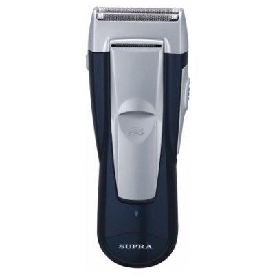 Бритва Supra RS-202 (RS-202)Электрические бритвы Supra<br>сеточная система бритья, 2 бритвенные головки, сухое / влажное бритье, питание: от аккумулятора, время автономной работы 40 мин, плавающие головки<br>