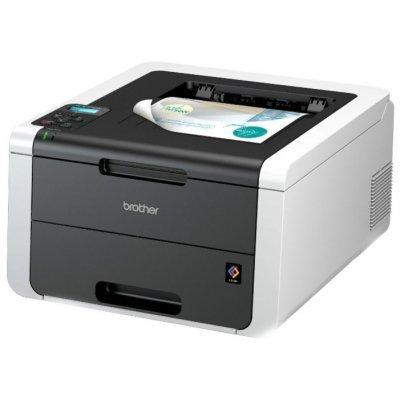 Лазерный принтер Brother HL-3170CDW (HL3170CDWR1) мфу brother hl l2360dnr лазерный светодиодный черный черно белая а4