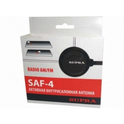 Антенна автомобильная Supra SAF-4 (SAF-4)