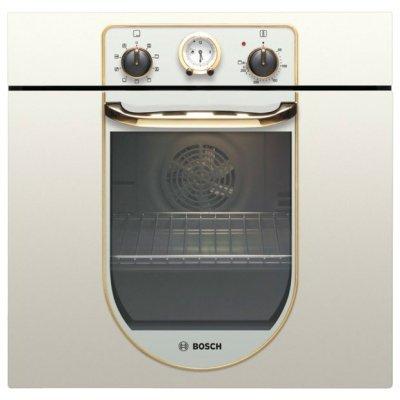 Электрический духовой шкаф Bosch HBA23BN21 (HBA23BN21)Электрические духовые шкафы Bosch<br>MultiFunction 2D, дизайн Nostalgie, 7 режимов нагрева, 3-слойное остекление, объем духовки 62л, аналоговые часы с таймером, быстрый разогрев, класс А энергопотребления<br>