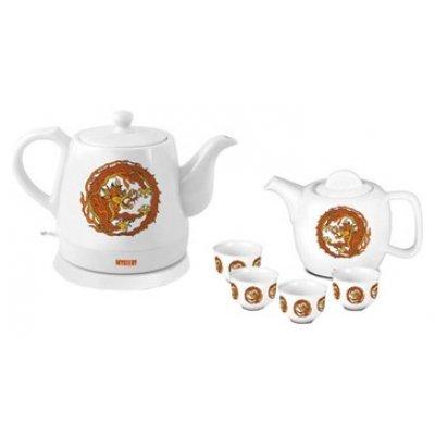 Электрический чайник Mystery MEK-1624 (MEK-1624)Электрические чайники Mystery<br>чайник, объем 1.2 л, мощность 1500 Вт, заварочный чайник, материал корпуса: керамика<br>