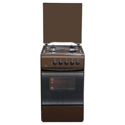 Газовая плита Flama RG2401B (RG2401B)Газовые плиты Flama<br>4-х горелочная, улучшенная конструкция стола, новая горелочная группа, газконтроль духовки<br>