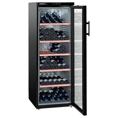 Винный шкаф Liebherr WKb 4212 (WKb4212-20 001)Винные шкафы Liebherr<br>165х60х73.9, климатический, 200 бутылок<br>