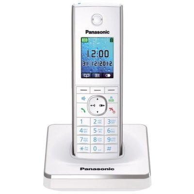 Радиотелефон Panasonic KX-TG8551 белый (KX-TG8551RUW) panasonic kx tg8551ruw