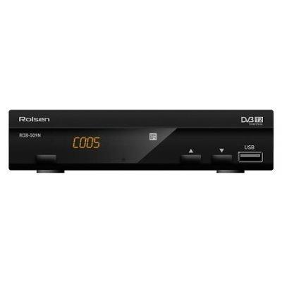 Внешний TV-тюнер DVB-T2 Rolsen RDB-509N (RDB-509N)