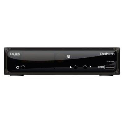 Внешний TV-тюнер DVB-T2 Rolsen RDB-510N (RDB-510N)