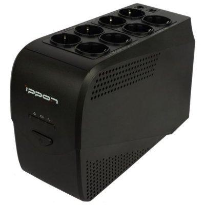 Источник бесперебойного питания Ippon Back Comfo Pro 800 black new (Back Comfo Pro 800 black new)Источники бесперебойного питания Ippon<br><br>