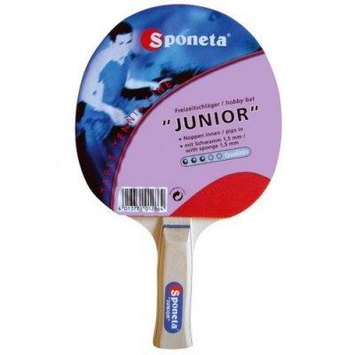 Ракетка для настольного тенниса Sponeta Junior 3star (Sponeta Junior 3star)Ракетки для настольного тенниса Sponeta<br><br>