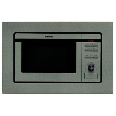 Микроволновая печь Hansa AMM20BIH (AMM20BIH)Микроволновые печи Hansa<br>20 л, 800 Вт, гриль: 1000 Вт, электронное управление, серебристая<br>