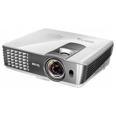 Проектор Benq W1080ST (9H.J7M77.17E)Проекторы BenQ<br>DLP 2000Lm 1080p 10000:1 ресурс лампы (6000час)<br>