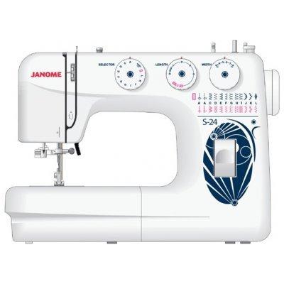 Швейная машина Janome S-24 белый (S-24 белый) S-24 белый