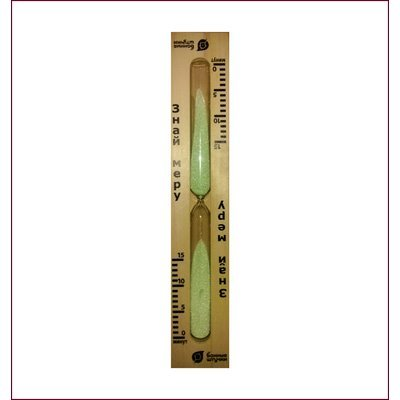 Часы песочные  Банные штучки для бани и сауны Знай меру (18033)Часы песочные Банные штучки<br>18033 Часы песочные д/бани/сауны Знай меру Банные штучки<br>
