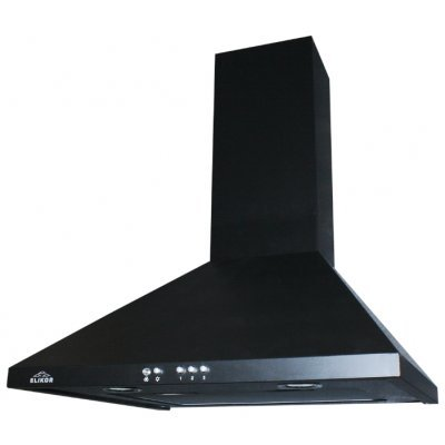 Вытяжка Эликор Вента 50П-430-К3Г черный/гал (Вента ЗВ-430-50-57)Вытяжки Elikor<br>каминная<br>