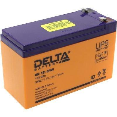 Аккумуляторная батарея для ИБП Delta HR12-34W (HR12-34W) аккумуляторная батарея для ибп delta hr 12 28w hr 12 28 w