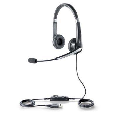 все цены на  Компьютерная гарнитура Jabra UC VOICE 550 Duo (5599-829-209)  онлайн