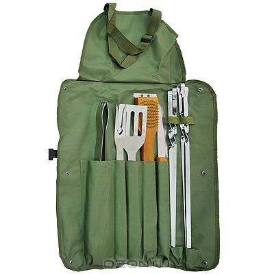 Набор для пикника BOYSCOUT 61320 (61320)Наборы для пикника Boyscout<br>61320 Набор(сумка-фартук,вилка,лопатка,щипцы,сол,пер)BOYSCOUT<br>
