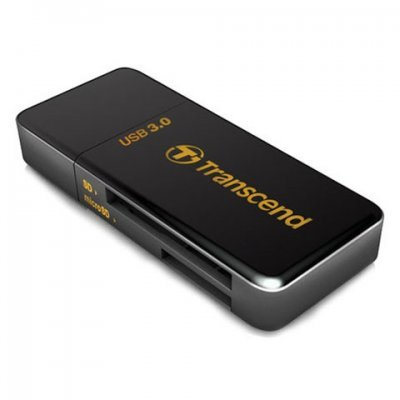 Картридер Transcend TS-RDF5K USB3.0 SD/microSD (TS-RDF5K) картридер transcend ts rdf5k usb3 0 sd microsd ts rdf5k