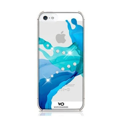 Чехол White Diamonds Liquids Blue для Apple iPhone 5/5s/SE (WD-1210LIQ44)