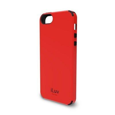 Чехол iLuv Regatta для Apple iPhone 5/5s/SE красный (iLuv-ICA7H321RED)Чехлы для смартфонов iLuv<br>из поликарбона + термопластик<br>
