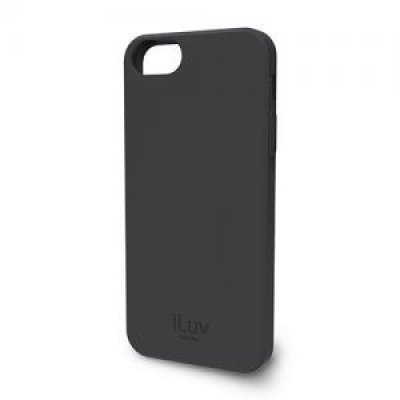 Чехол iLuv Gelato для Apple iPhone 5/5s/SE чёрный (iLuv-ICA7T306BLK)Чехлы для смартфонов iLuv<br>мягкий пластик (TPU)<br>