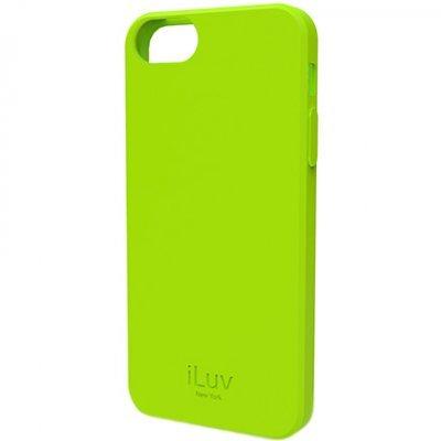 Чехол iLuv Gelato для Apple iPhone 5/5s/SE зелёный (iLuv-ICA7T306GRN)Чехлы для смартфонов iLuv<br>мягкий пластик (TPU)<br>