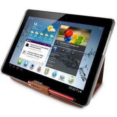 Чехол iLuv Slim Sleeve для Galaxy Tab II 10.1 коричневый (iLuv-iSS2105)Чехлы для планшетов iLuv<br>кожаный, с ф-цией подставки и держателем для стилуса<br>