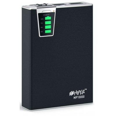 Внешний аккумулятор HIPER Power Bank MP10000 черный (MP10000 Black)