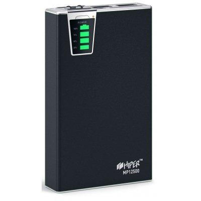 Внешний аккумулятор HIPER Power Bank MP12500 черный (MP12500 Black)