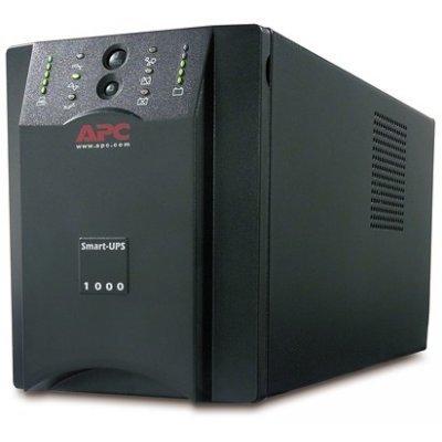Источник бесперебойного питания APC Smart-UPS XL 1000VA USB &amp; Serial 230V (SUA1000XLI)Источники бесперебойного питания APC<br>800W, 230V, 1000VA, Extended Runtime, Line-Interactive, user repl. batt., SmartSlot, USB, PowerChute<br>