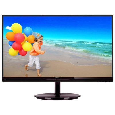 Монитор 23 Philips 234E5QSB (234E5QSB (00/01))Мониторы Philips<br>AH-IPS LED 14ms 16:9 DVI 20M:1 250cd<br>