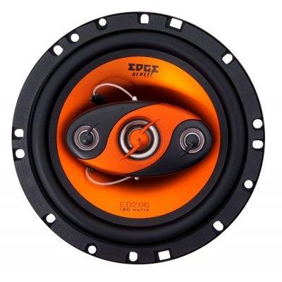 Колонки автомобильные EDGE ED206 (EDGE ED206)Колонки автомобильные Edge<br>четырехполосная коаксиальная АС<br>типоразмер: 16 см (6 дюйм.)<br>номинальная мощность 60 Вт<br>максимальная мощность 180 Вт<br>
