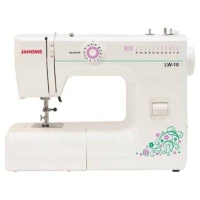 Швейная машина Janome LW-10 белый (LW-10 белый) janome ps 11 lw 10