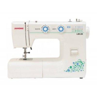 Швейная машина Janome LW-20 белый (LW-20 белый) швейная машина janome lw 20