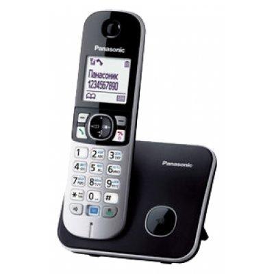 Радиотелефон Panasonic KX-TG6811 серый металлик (KX-TG6811RUM)