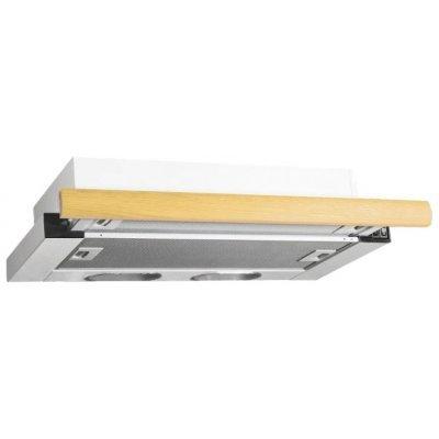 Вытяжка Elikor Интегра 60П-400-В2Л белый/дуб (60П-400-В2Л белый/дуб) цена и фото