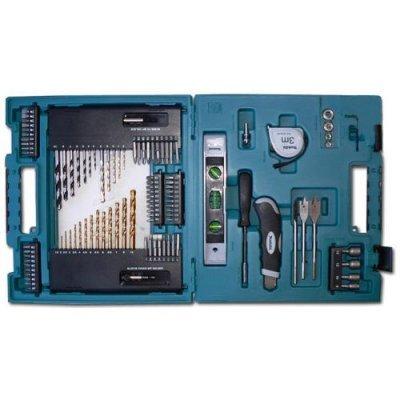 Набор Makita D-31778 104шт. (D-31778)Наборы инструментов Makita<br>отвертка ручн,держ-ль магн,отв.насадки,сверла д\дер,мет,бет,рулетка,ур-нь,зенкер,нож,чем<br>