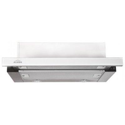 Вытяжка Elikor Интегра Glass 60Н-400-В2Г нерж/стекло белое (Интегра Glass 60Н-400-В2Г нерж/стекло белое)