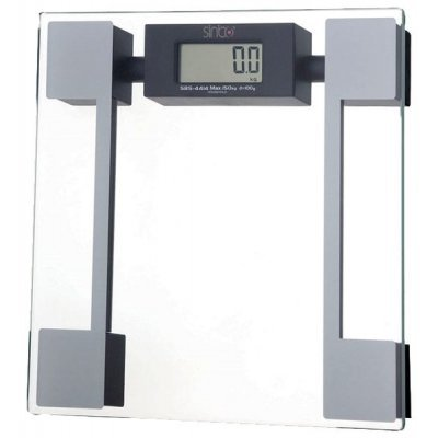 Весы Sinbo SBS 4414 (SBS 4414)Весы Sinbo<br>цифровой дисплей; шаг 100 гр; максимум 150 кг<br>
